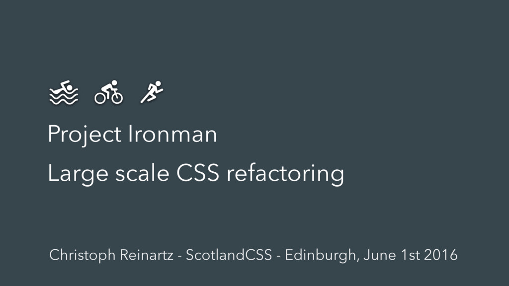 Project Ironman Large scale CSS refactoring Chr...