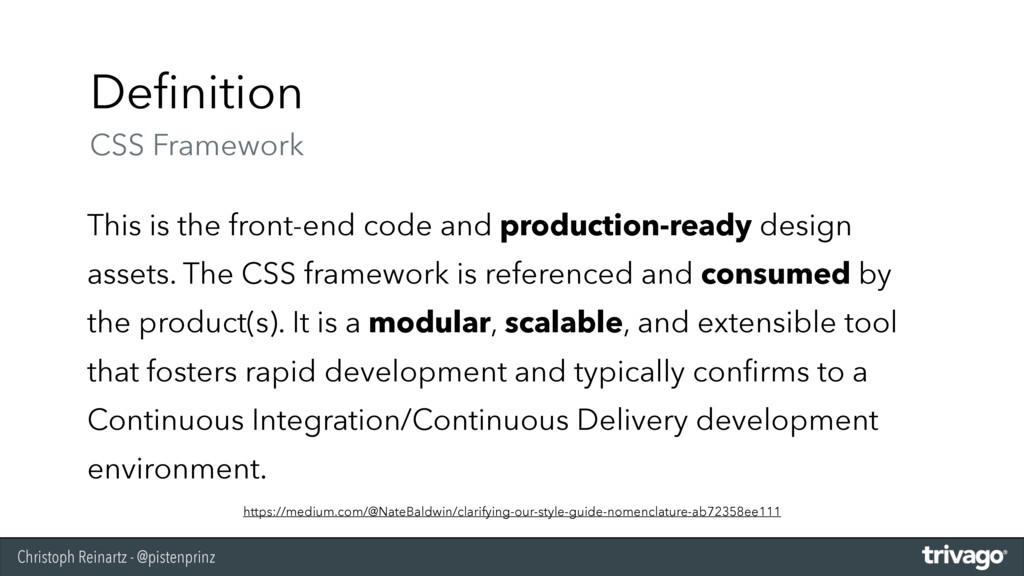 Christoph Reinartz - @pistenprinz Definition CS...