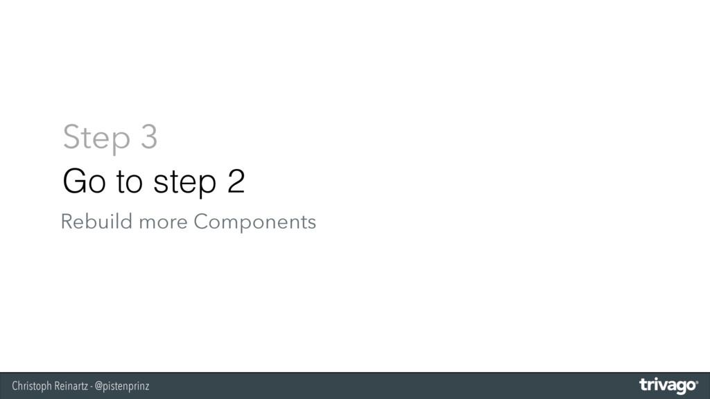 Christoph Reinartz - @pistenprinz Step 3 Go to ...