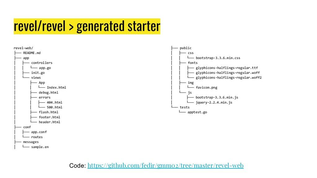 revel/revel > generated starter revel-web/ ├── ...