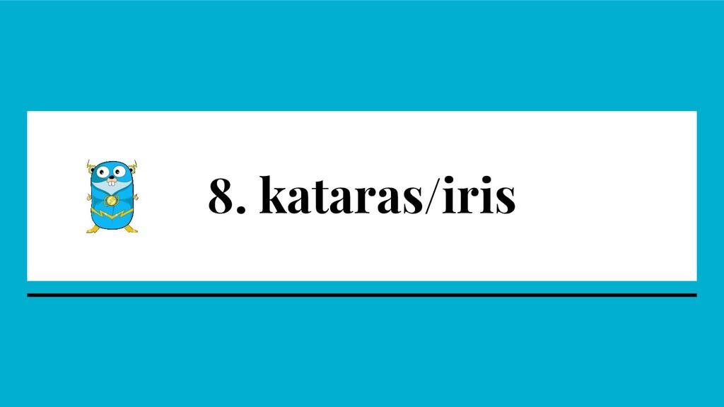 8. kataras/iris