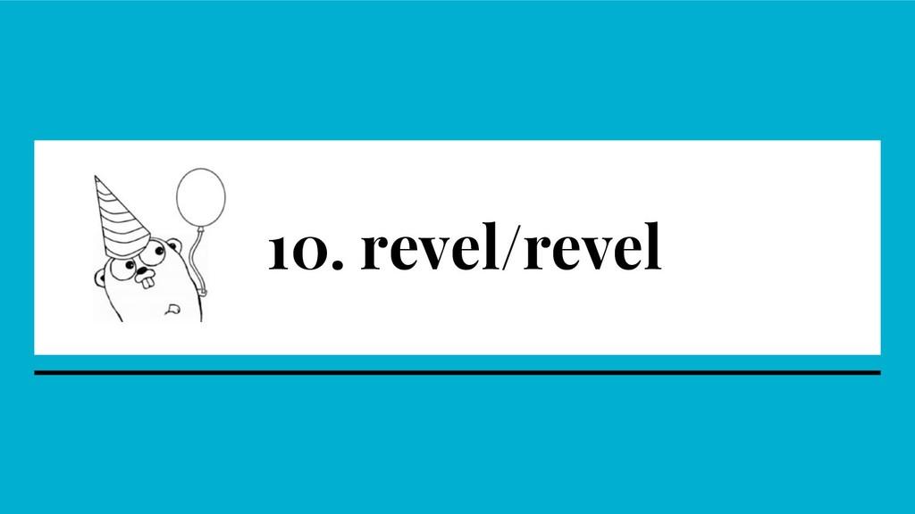 10. revel/revel
