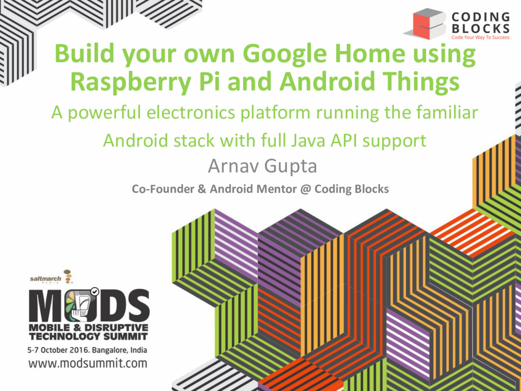 Build your own Google Home using Raspberry Pi a...