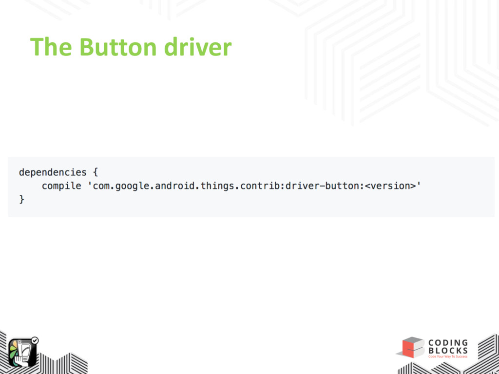 The Button driver