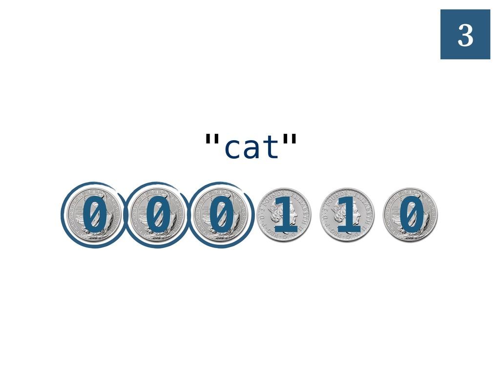 """1 """"cat"""" 3 0 0 0 1 1 0"""