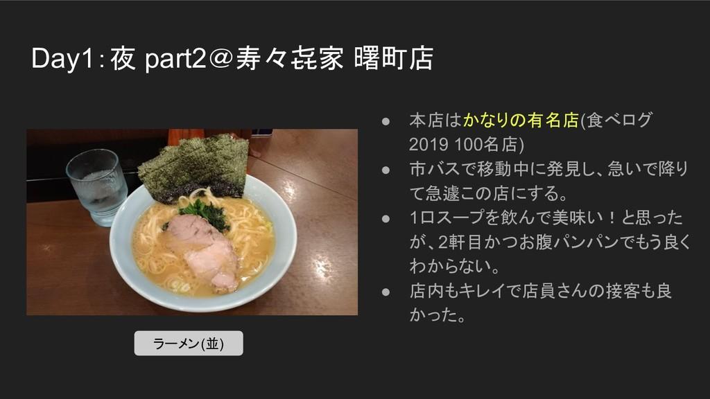 Day1:夜 part2@寿々㐂家 曙町店 ● 本店はかなりの有名店(食べログ 2019 10...