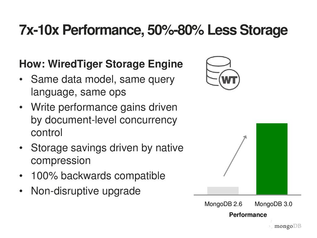 7x-10x Performance, 50%-80% Less Storage How: W...