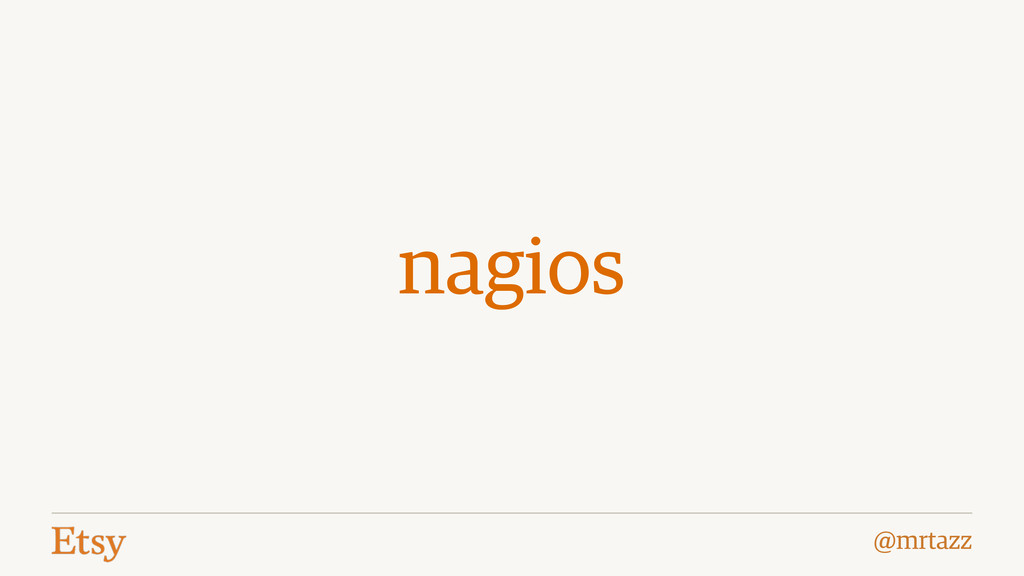 @mrtazz nagios