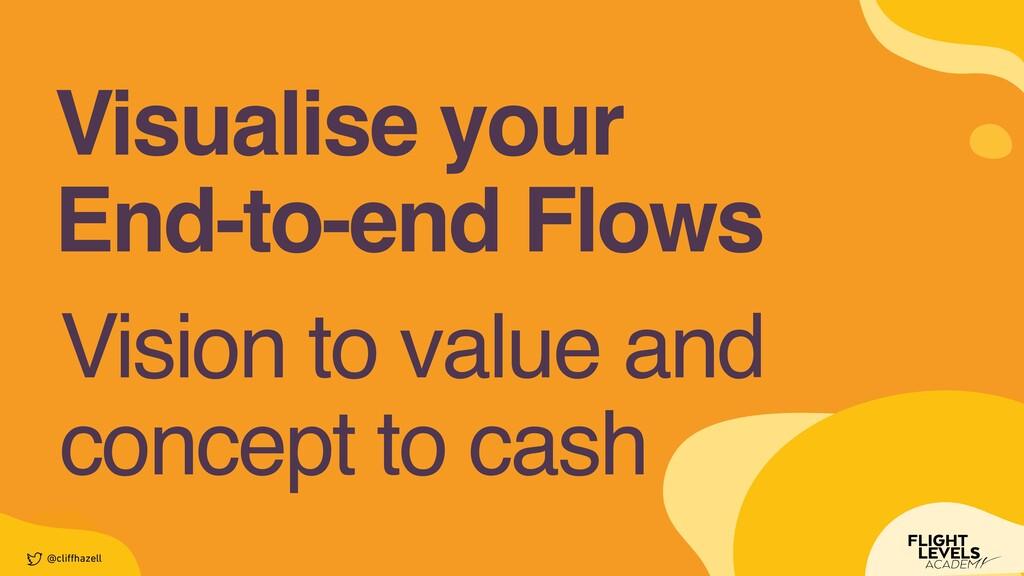 Visualise you r  End-to-end Flows @cli ff hazel...