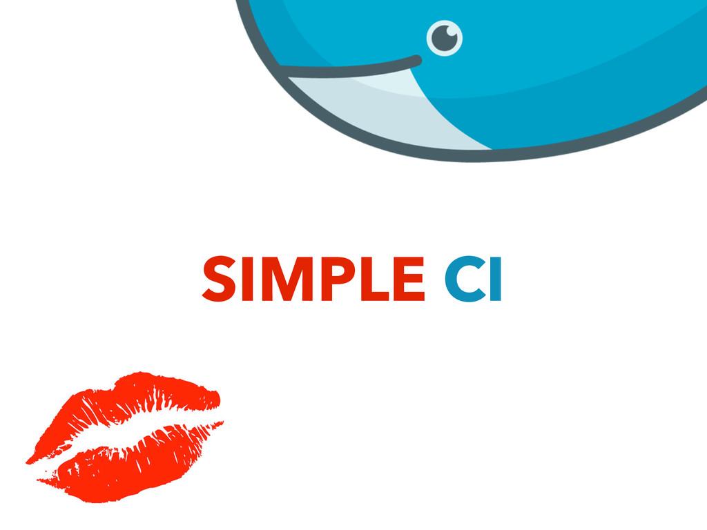 SIMPLE CI