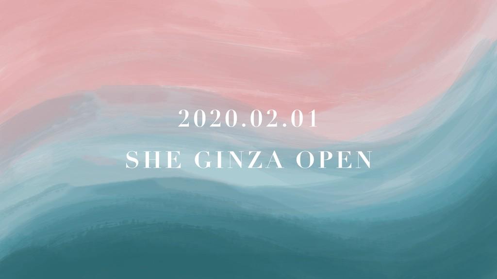 2020.02.01 SHE GINZA OPEN