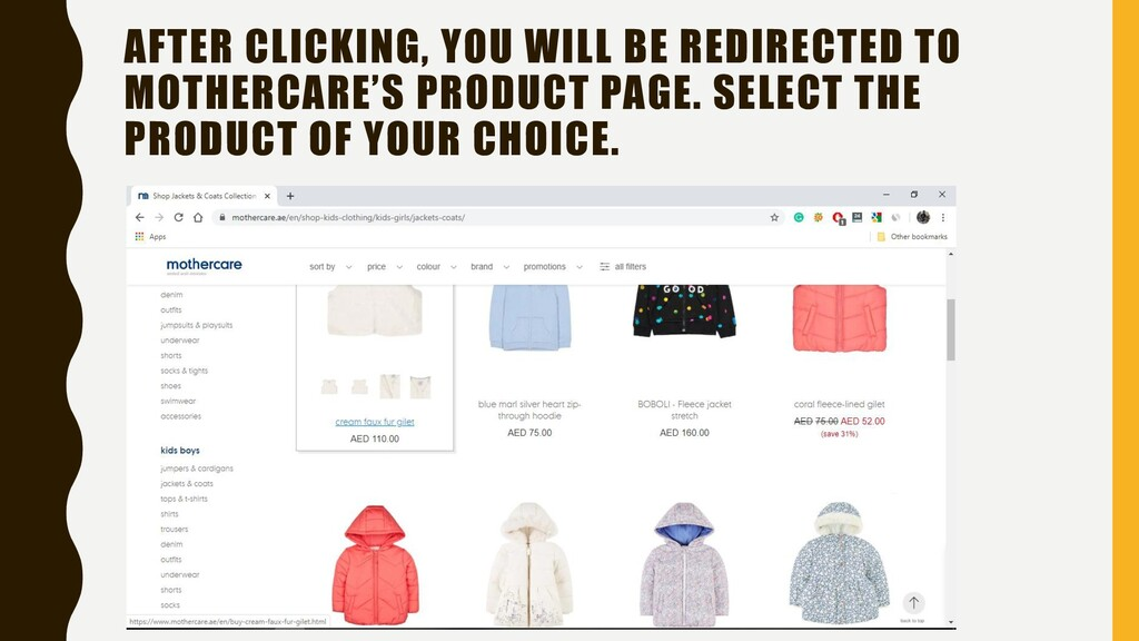 AFTER CLICKING, YOU WILL BE REDIRECTED TO MOTHE...