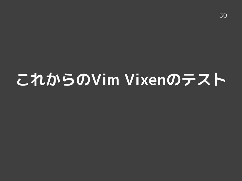 これからのVim Vixenのテスト 30