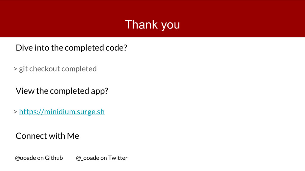 Thank you > git checkout completed Dive into th...