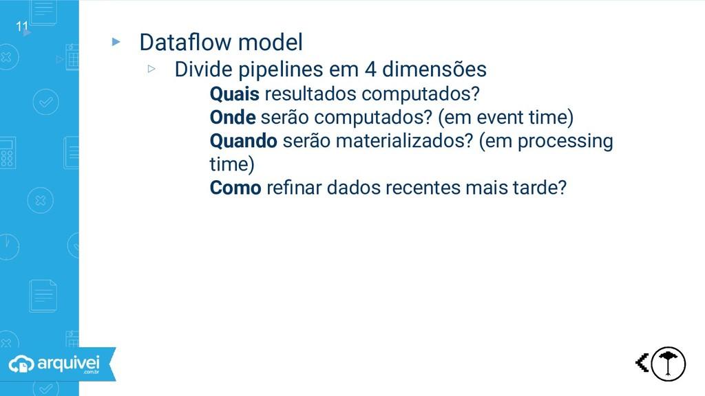 11 ▸ ▹ Dataflow model ▸ Dataflow model ▹ Divide p...