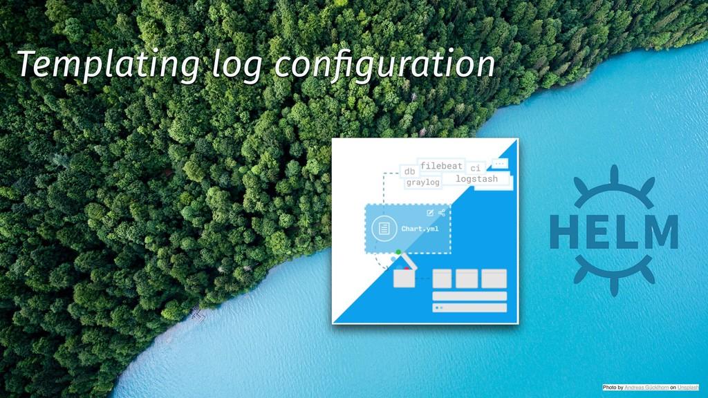 @backstreetkiwi ✨ @tboeghk Templating log config...