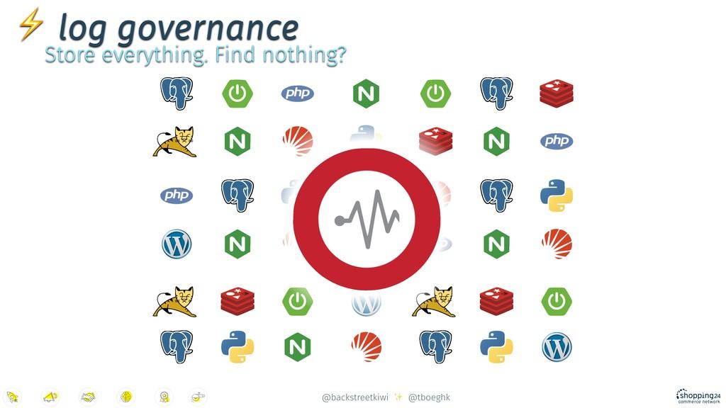 @backstreetkiwi ✨ @tboeghk ⚡ log governance Sto...