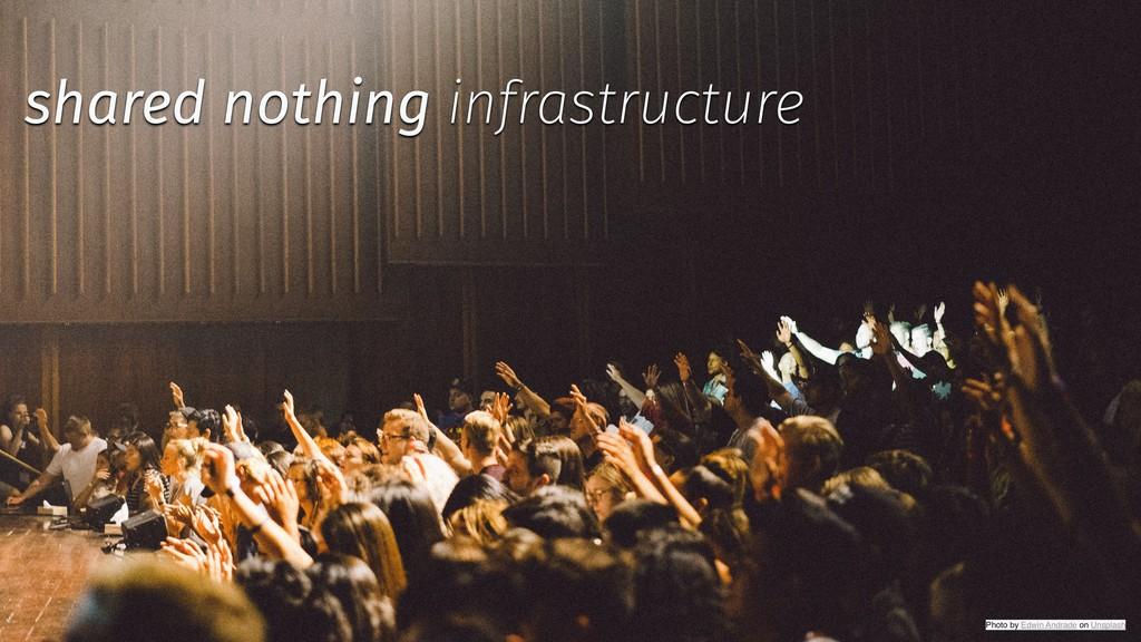 @backstreetkiwi ✨ @tboeghk shared nothing infra...