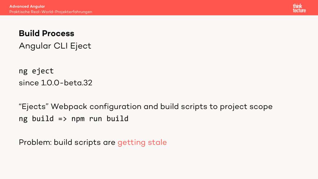 Angular CLI Eject ng eject since 1.0.0-beta.32 ...