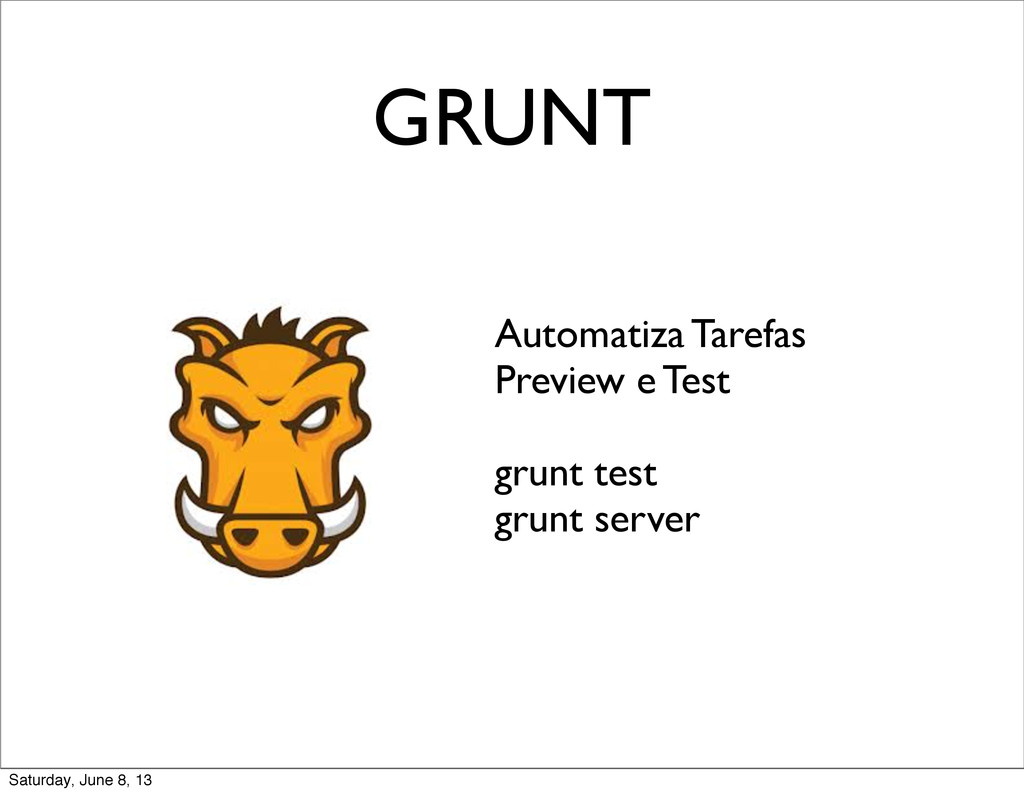 GRUNT Automatiza Tarefas Preview e Test grunt t...