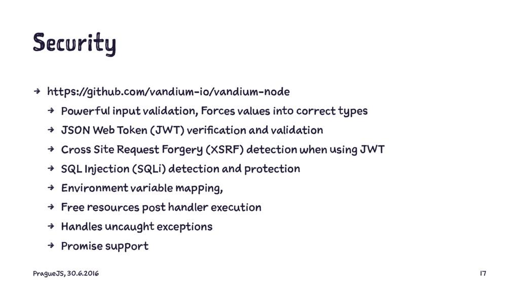 Security 4 https://github.com/vandium-io/vandiu...