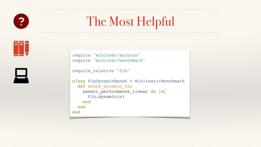 """The Most Helpful require """"minitest/autorun"""" req..."""