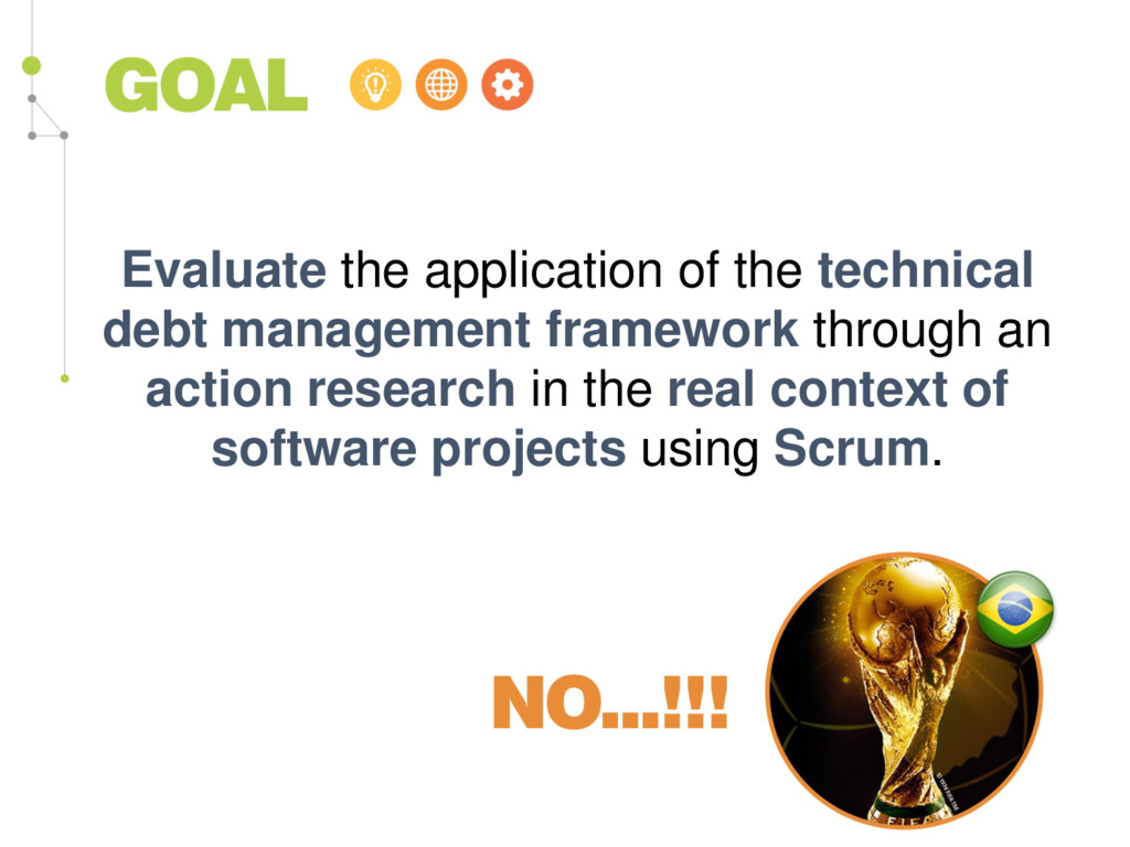 Evaluate the application of the technical debt ...