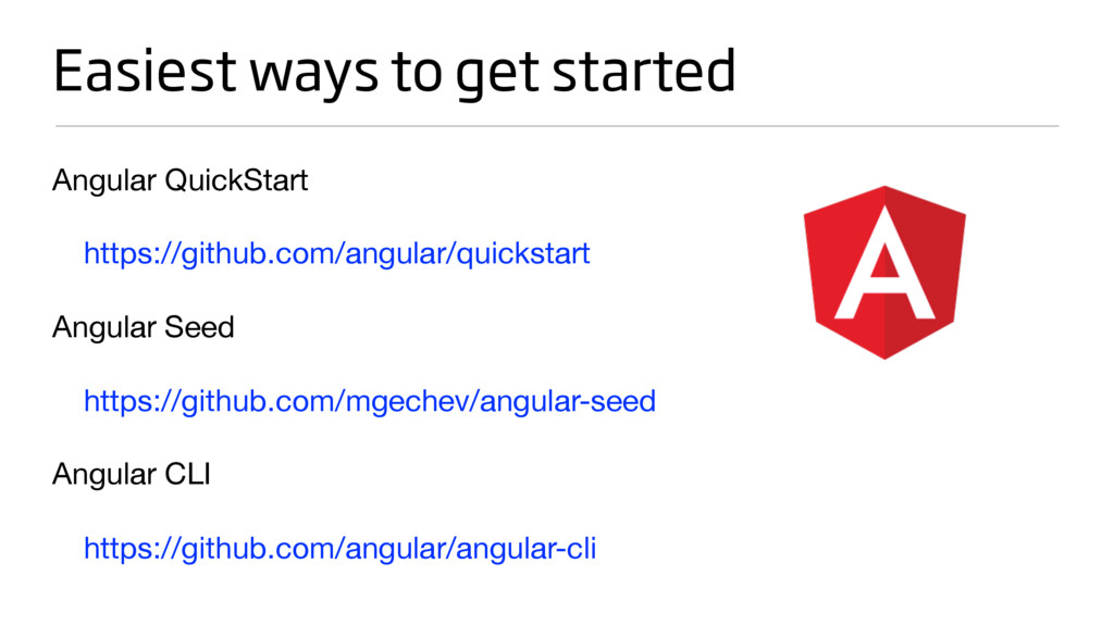 Easiest ways to get started Angular QuickStart ...