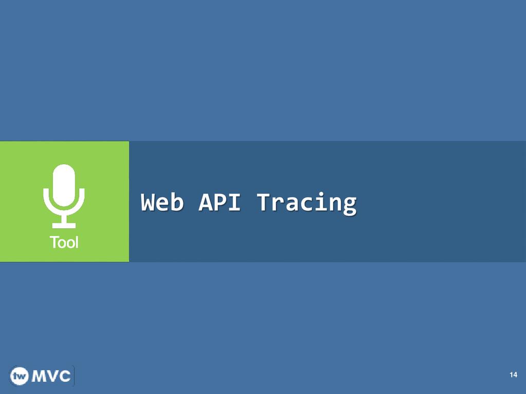 14 Web API Tracing