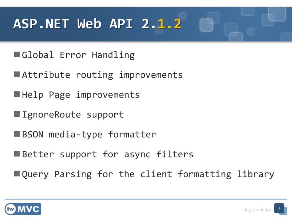 http://mvc.tw  Global Error Handling  Attribu...