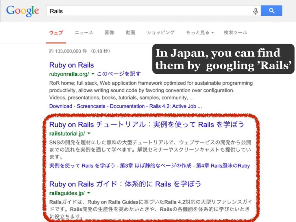In Japan, you can find them by googling 'Rails'