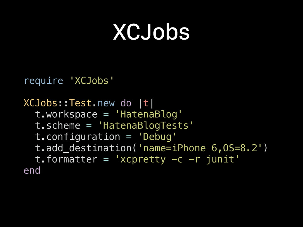 XCJobs require 'XCJobs'
