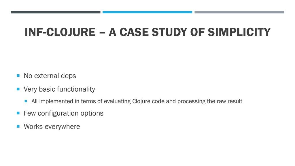 INF-CLOJURE – A CASE STUDY OF SIMPLICITY  No e...