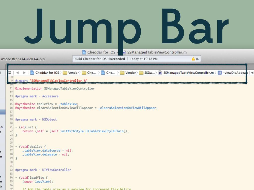 Jump Bar