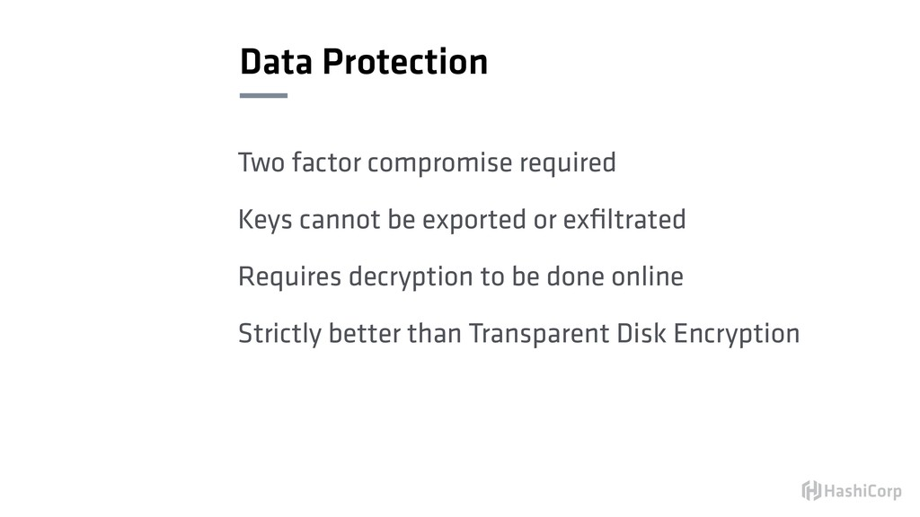 Data Protection Two factor compromise required ...