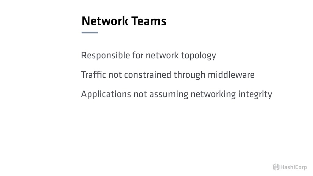 Network Teams Responsible for network topology ...