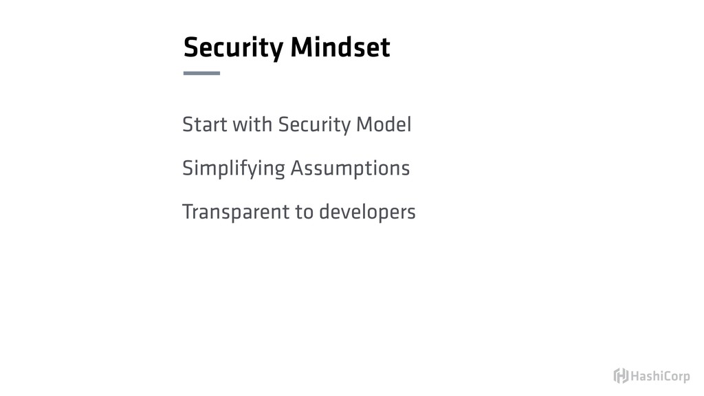 Security Mindset Start with Security Model Simp...