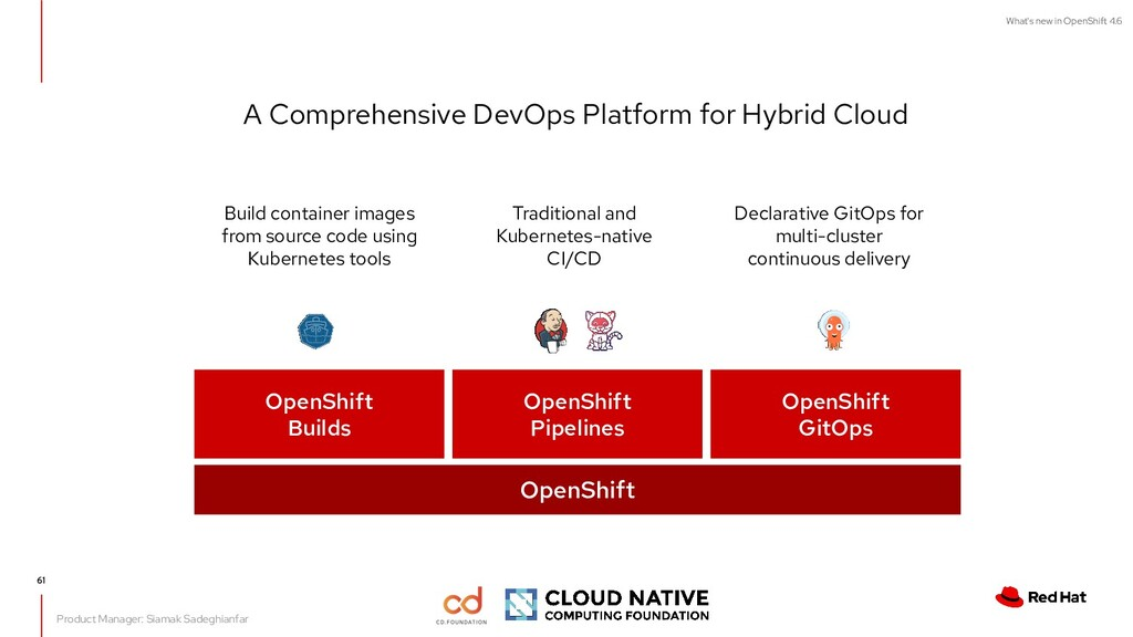 What's new in OpenShift 4.6 Traditional and Kub...
