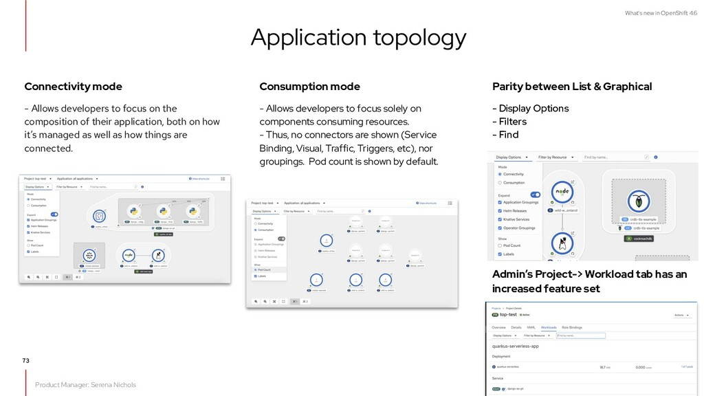 What's new in OpenShift 4.6 Connectivity mode -...