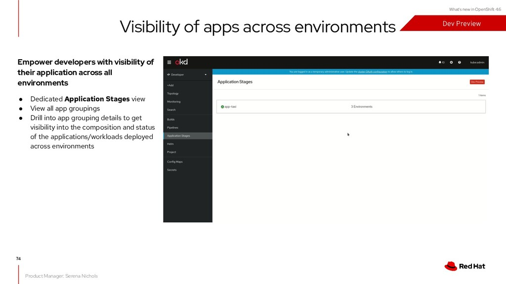What's new in OpenShift 4.6 Empower developers ...