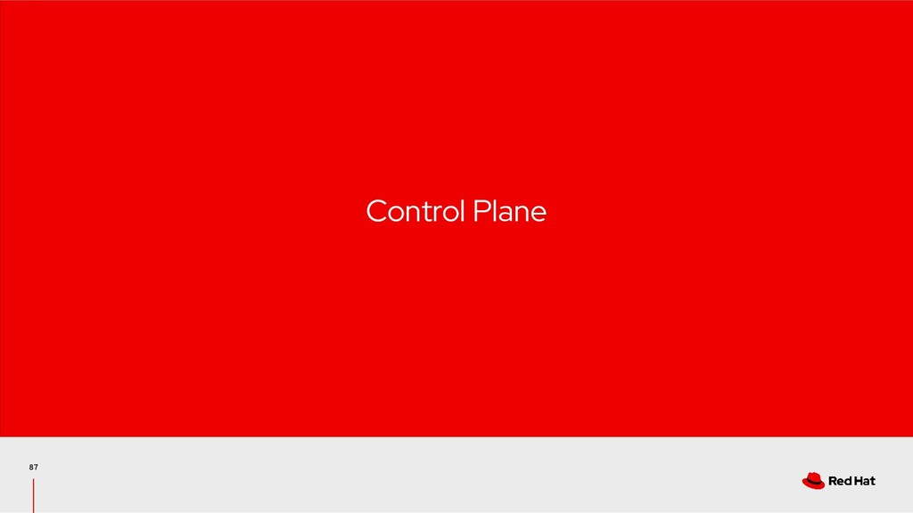 87 Control Plane
