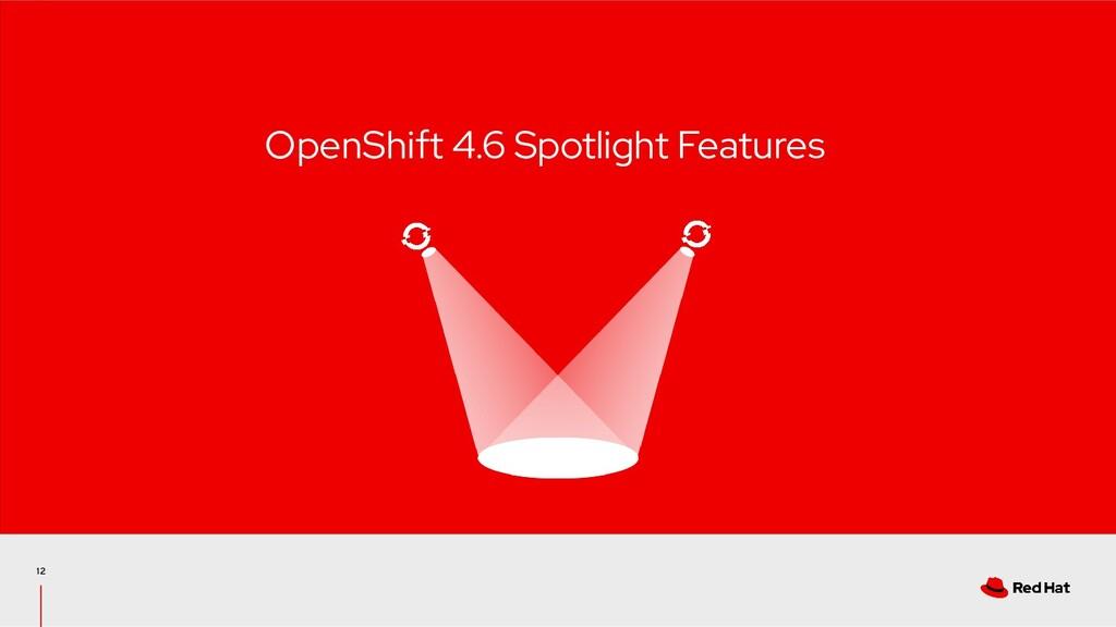 12 OpenShift 4.6 Spotlight Features