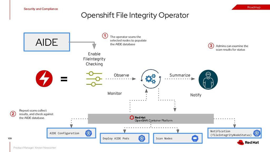 Openshift File Integrity Operator = Notify Enab...