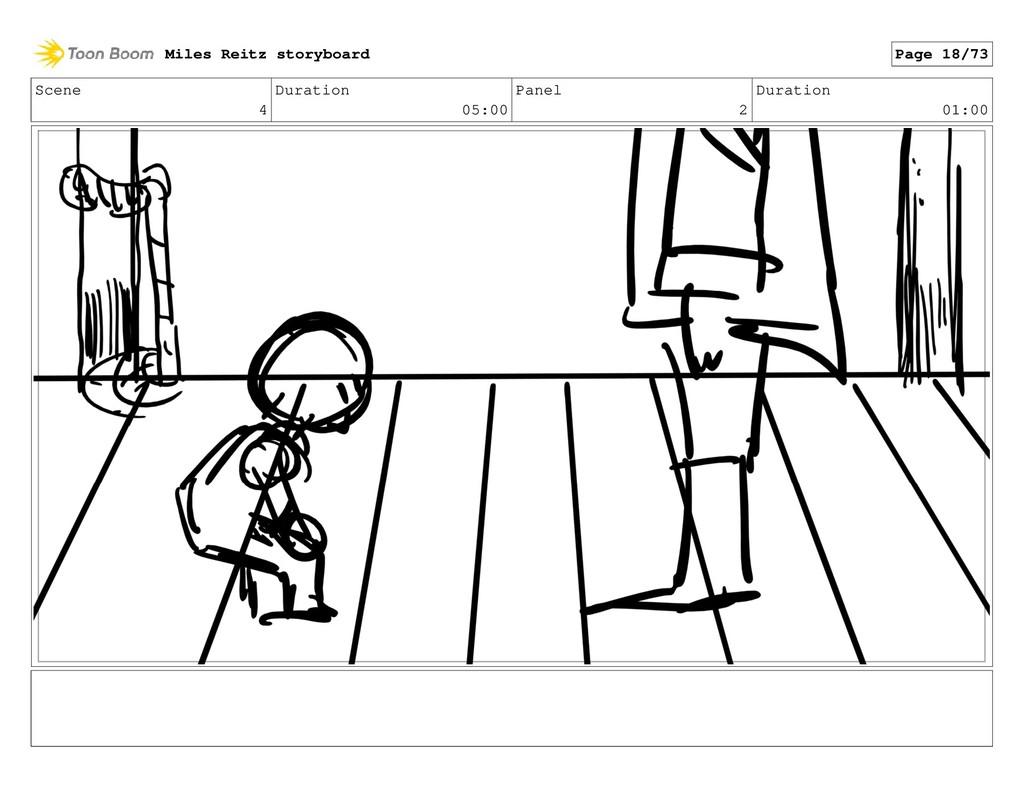 Scene 4 Duration 05:00 Panel 2 Duration 01:00 M...