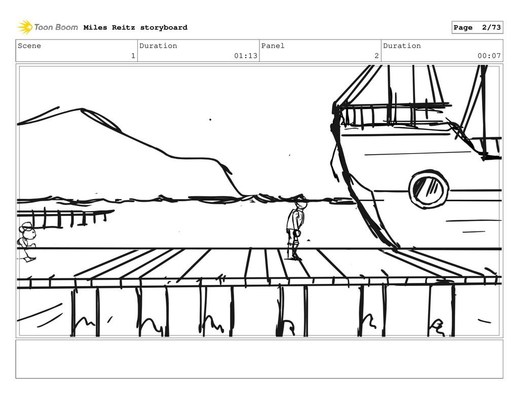 Scene 1 Duration 01:13 Panel 2 Duration 00:07 M...