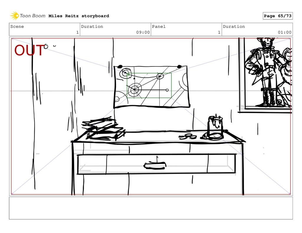 Scene 1 Duration 09:00 Panel 1 Duration 01:00 M...