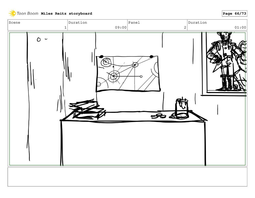 Scene 1 Duration 09:00 Panel 2 Duration 01:00 M...