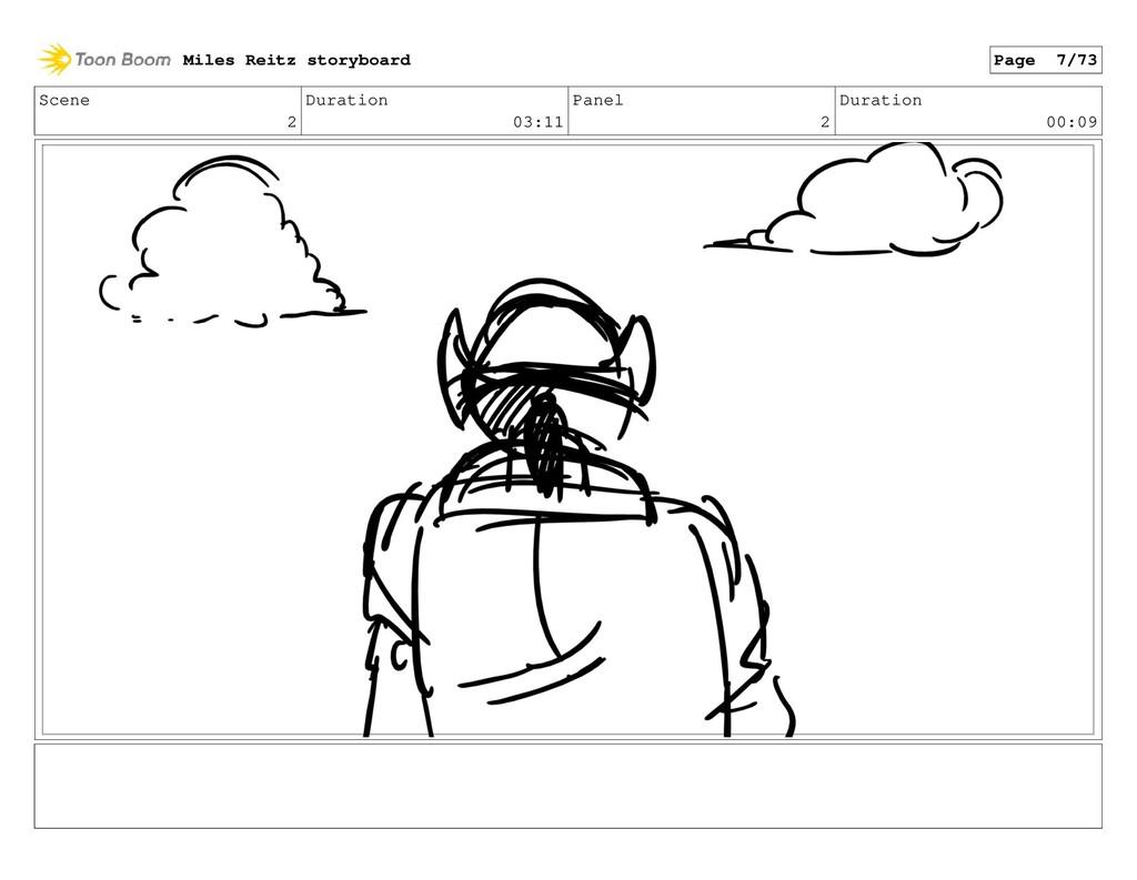 Scene 2 Duration 03:11 Panel 2 Duration 00:09 M...
