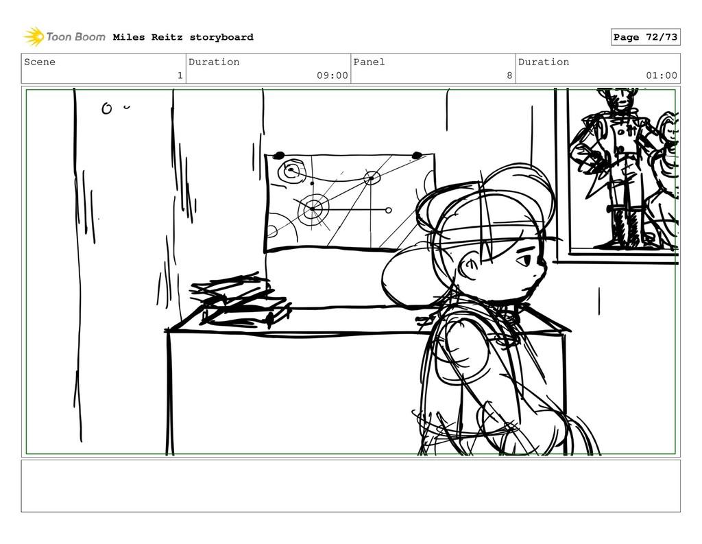 Scene 1 Duration 09:00 Panel 8 Duration 01:00 M...