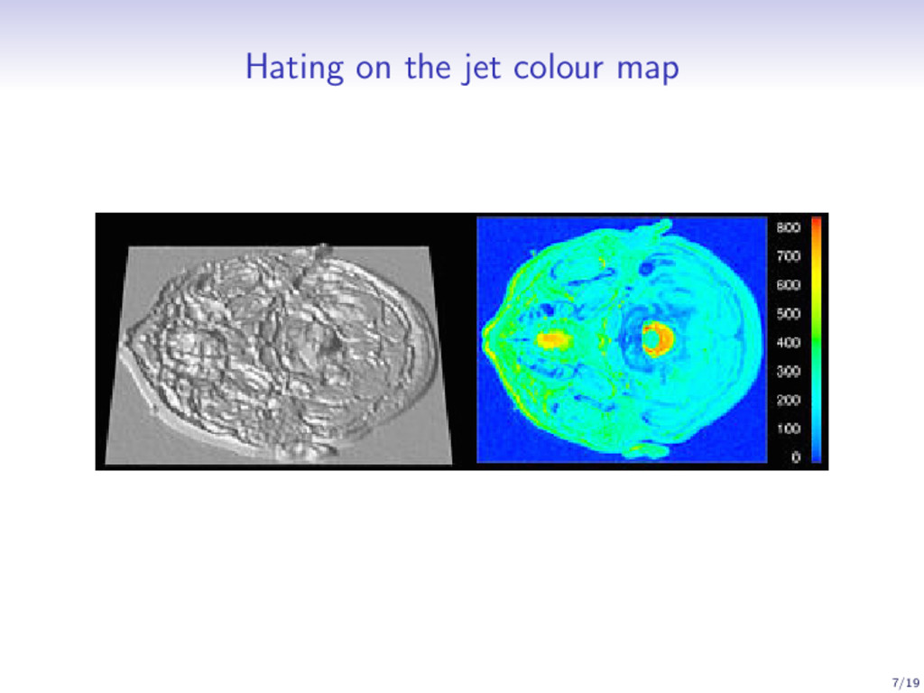 Hating on the jet colour map 7/19